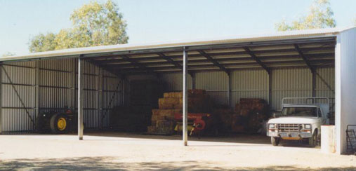 Hay sheds so you can retain the quality get the best for Equipment shed